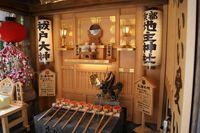 手水所(地主神社)