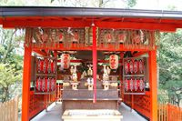 栗光稲荷(地主神社)