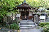拝殿(熊野若王子神社)