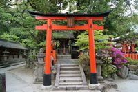 稲荷社・織田稲荷社(今宮神社)
