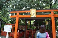 縁結びの神・相生社(下鴨神社)