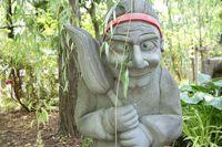 式神石像(清明神社)