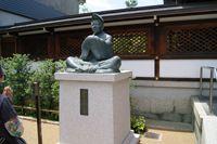 安倍晴明公像(清明神社)