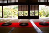 雪の庭(妙満寺)